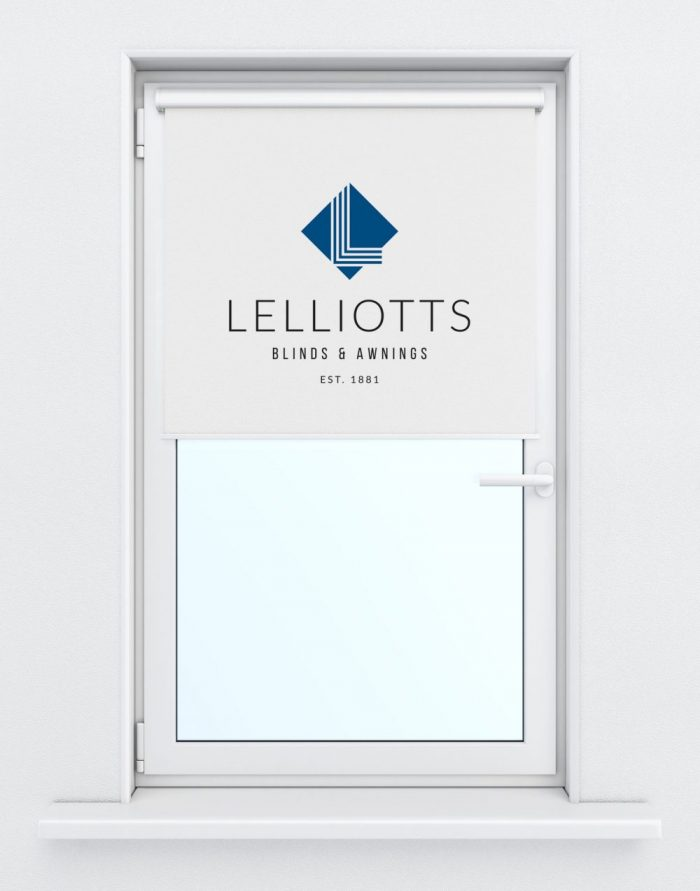Logo design for Lelliotts blinds and awnings