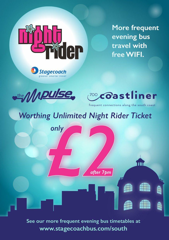 Nightrider leaflet A5