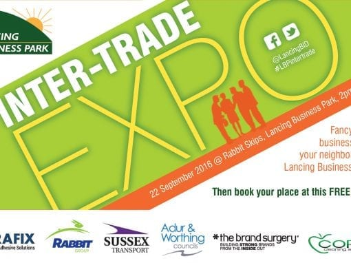 Intertrading event for Lancing Business Park