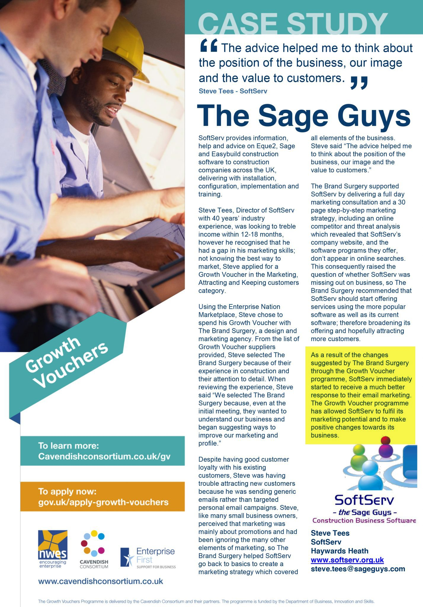 Marketing strategy - The Sage Guys