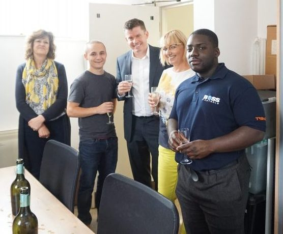 Celebrating the launch of Boss Controls