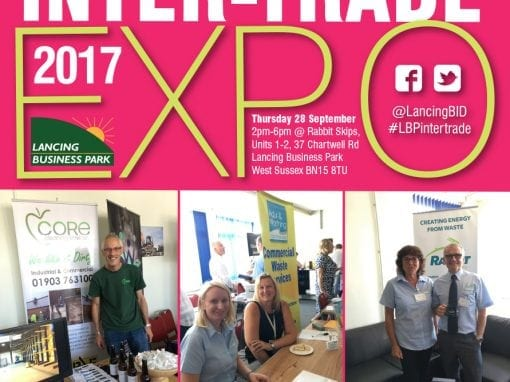 2017 Lancing Business Park Business Intertrade Expo – BID marketing
