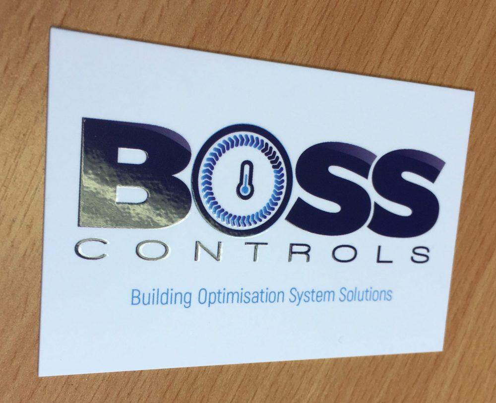 Logo design - business card - BOSS CONTROLS