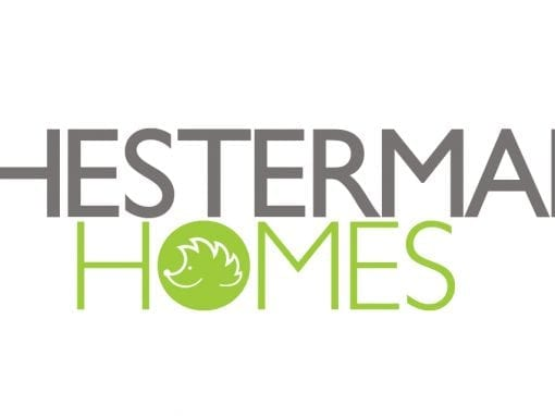 Logo design for property developer, Chesterman Homes. The project consisted of market researcBusiness name creation, logo design and company values